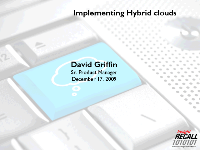 Implementing Hybrid Clouds