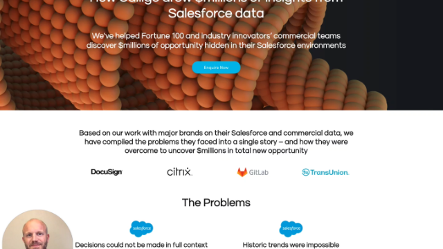 Draw $millions of insights from your Salesfroce / CRM data