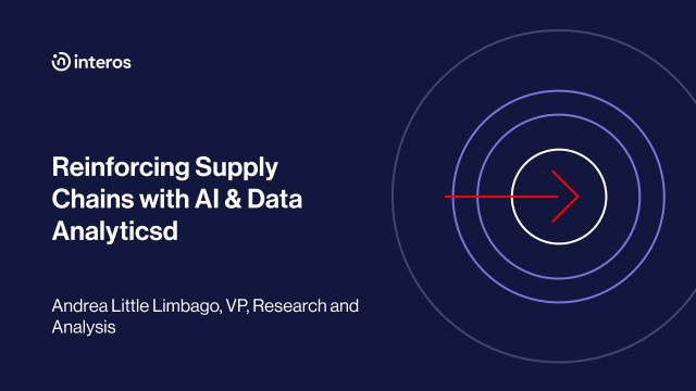 Reinforcing Supply Chains with AI & Data Analytics