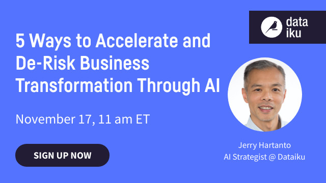 5 Ways to Accelerate and De-Risk Business Transformation Through AI