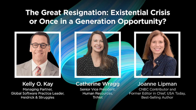 The Great Resignation: Existential Crisis or Once in a Generation Opportunity?