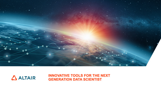 Innovative Tools for the Next Generation Data Scientist