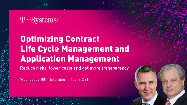 Optimizing Contract Life Cycle Management and Application Management