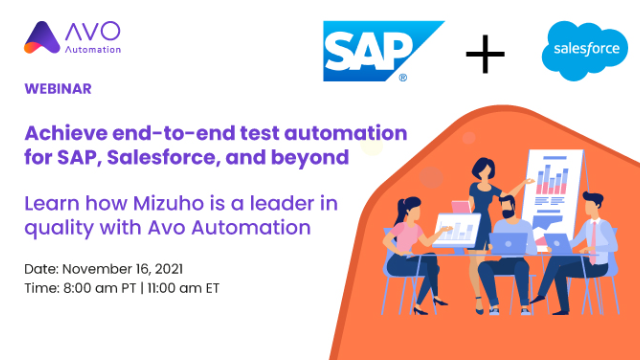 Achieve end-to-end test automation for SAP, Salesforce, and beyond
