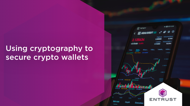 Using cryptography to secure crypto wallets