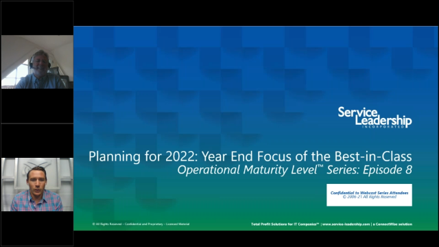 Planning for 2022: Year End Focus of Best-in-Class MSPs