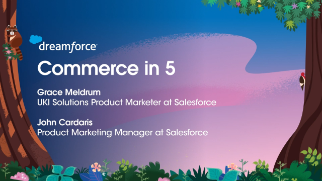 Grow Faster with Customer-Centric Commerce on Salesforce
