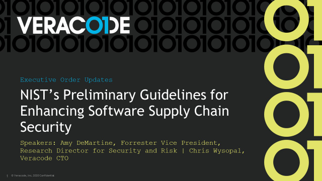 NIST's Preliminary Guidelines for Enhancing Software Supply Chain Security