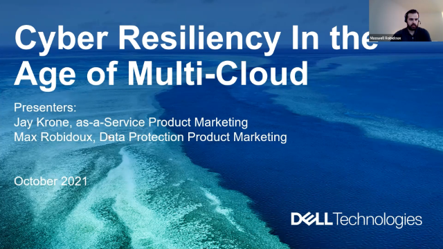 Cyber Resiliency in the Age of Multi-Cloud