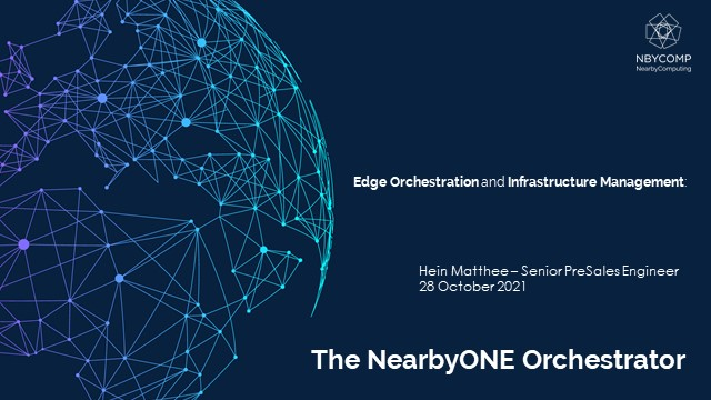 Edge Infrastructure Orchestration and Management
