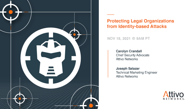 Protecting Legal Organizations from Identity-based Attacks