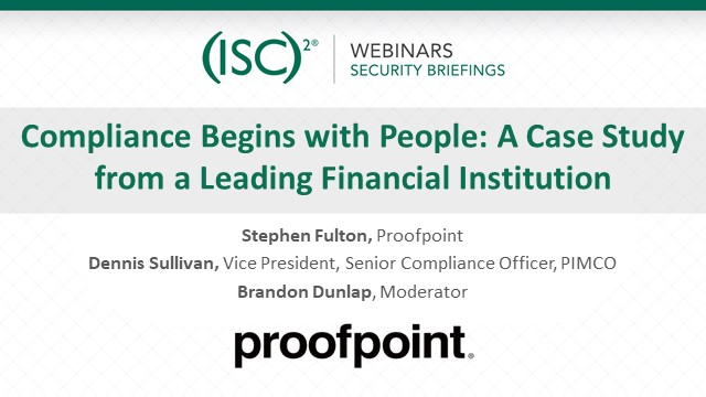 Compliance Begins with People: A Case Study from a Leading Financial Institution
