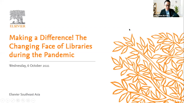 Making a Difference! The Changing Face of Libraries During the Pandemic