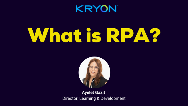 What is RPA?