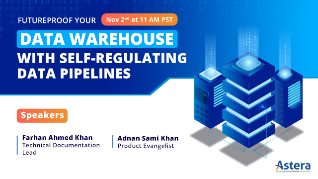 Futureproof your Data Warehouse with Self-Regulating Data Pipelines.