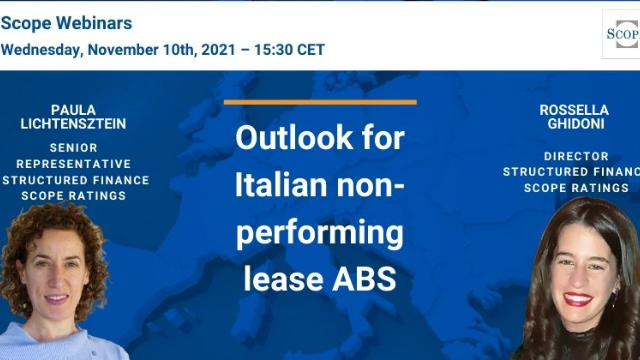 Outlook for Italian non-performing lease ABS