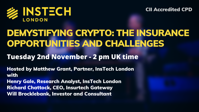 Demystifying Crypto: The Insurance Opportunities and Challenges