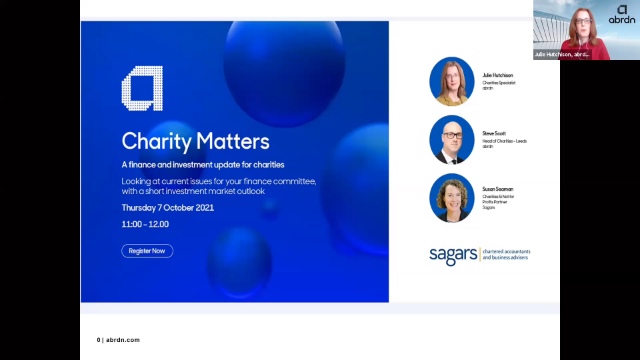 Charity Matters- charity finance & investment update