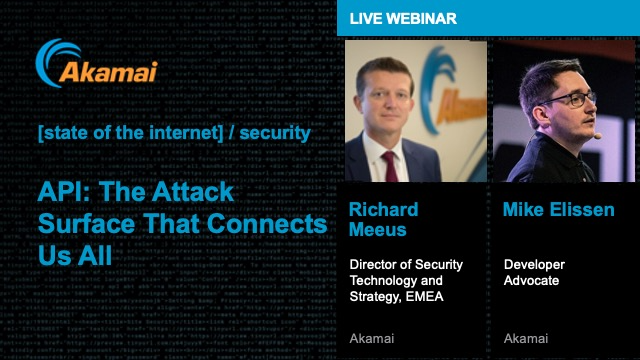 [state of the internet] / security API: The Attack Surface that Connects Us All