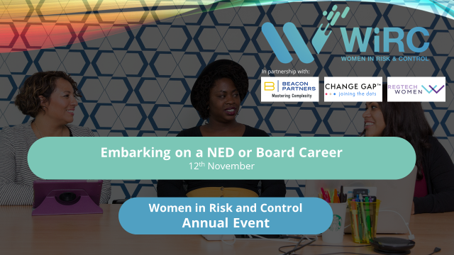 WiRC Annual Event: Embarking on a NED or Board Career