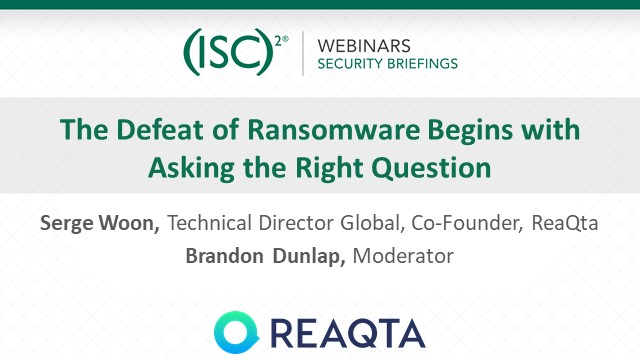 The Defeat of Cyber Threats Begins with Asking the Right Question