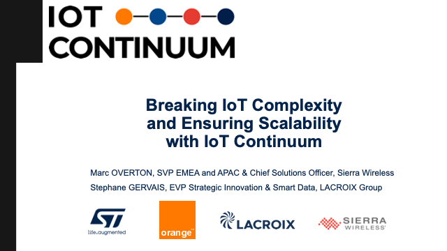Breaking IoT Complexity and Ensuring Scalability with IoT Continuum