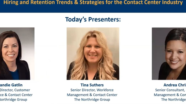 Hiring and Retention Trends & Strategies for the Contact Center Industry