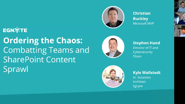 Ordering the Chaos: Combatting Teams and SharePoint Content Sprawl