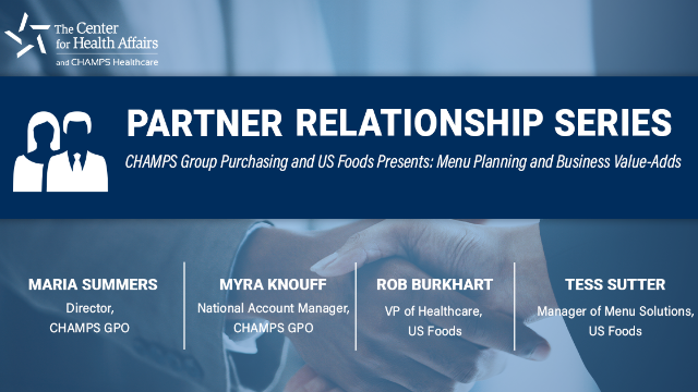 Partner Relationship Series: Menu Planning and Business Value-Adds