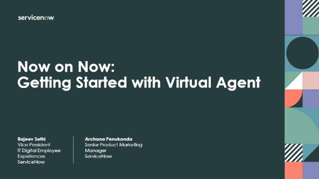 Jump Start your Digital Transformation using SN's AI powered Virtual Agent