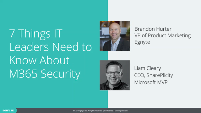 7 Steps to Better M365 Security: What IT Leaders Need to Know
