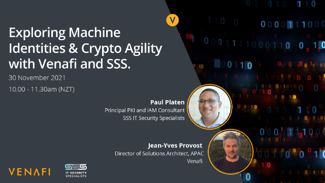 Exploring Machine Identities with Venafi and SSS – IT Security Specialists