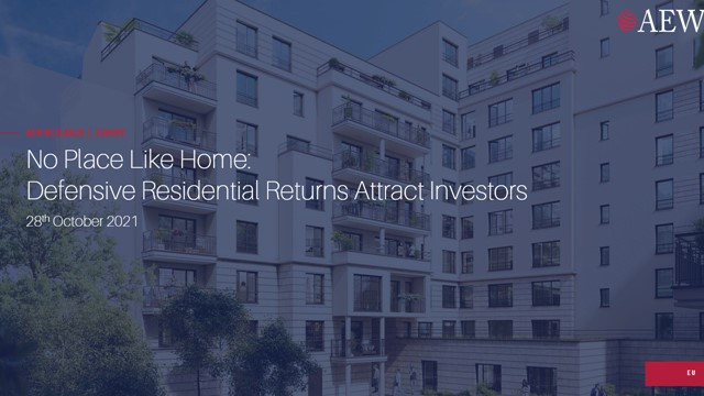 NO PLACE LIKE HOME: DEFENSIVE RESIDENTIAL RETURNS ATTRACT INVESTORS