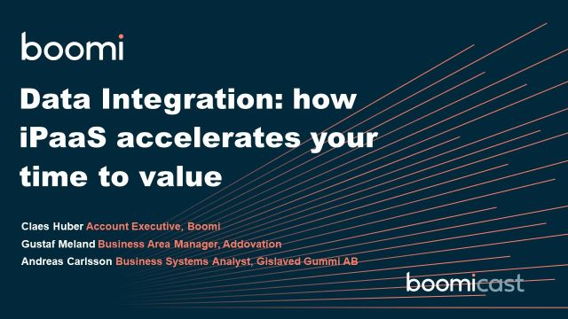 Data Integration: how iPaaS accelerates your time to value