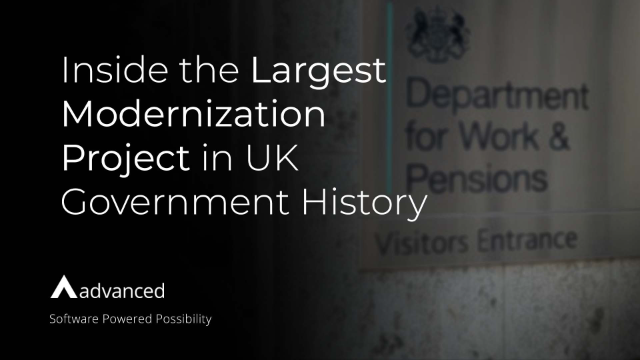 Inside the Largest Modernization Project in UK Government History