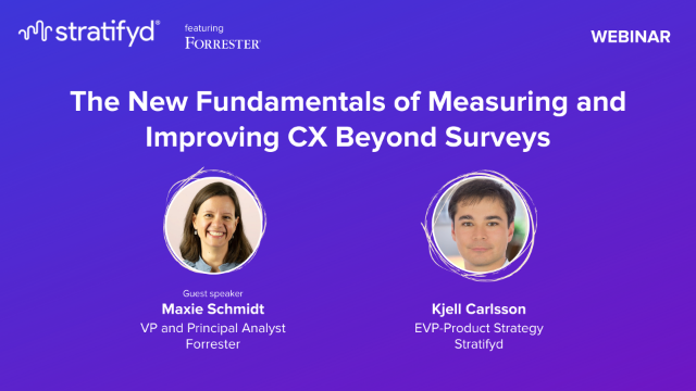 The New Fundamentals of Measuring and Improving CX Beyond Surveys (US )