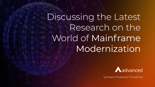 Live Discussion: The 2021 Mainframe Modernization Business Barometer Report