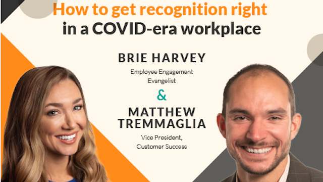 How to Get Recognition Right in a COVID-Era Workplace
