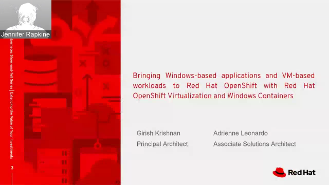 OpenShift Show-and-Tell Series - Session 6