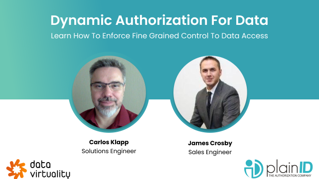 Dynamic Authorization for Data - Eenforcing fine grained control to data access