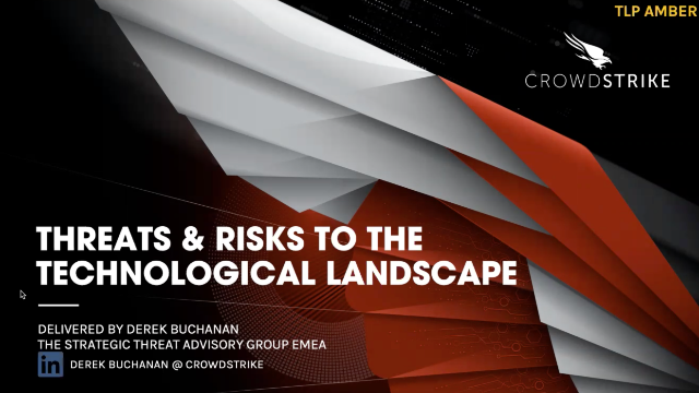 Threats & Risks to the Technological Landscape