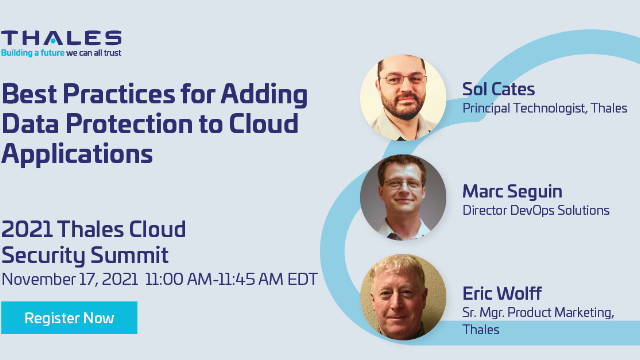 Best Practices for Adding Data Protection to Cloud Applications