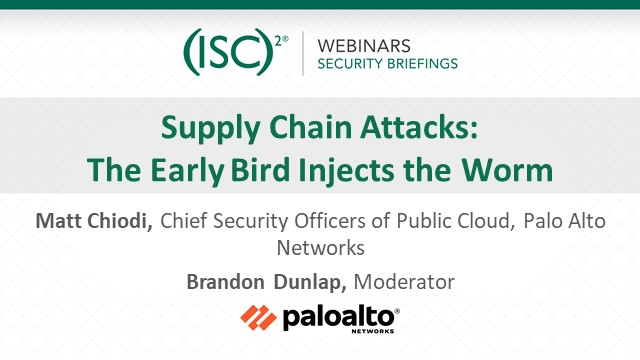 Supply Chain Attacks: The Early Bird Injects the Worm