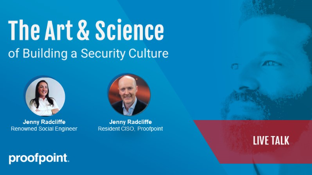 The Art & Science of Building a Security Culture