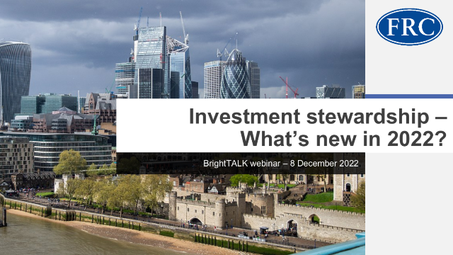 Investment stewardship – What's new in 2022?