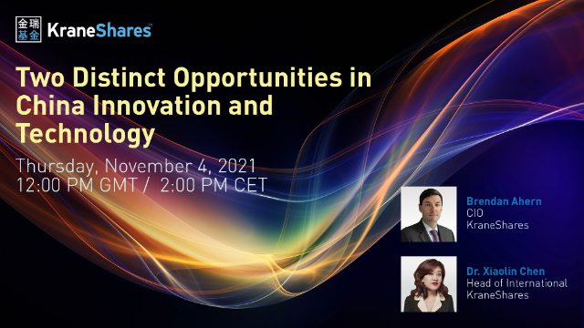 Two Distinct Opportunities in China Innovation and Technology