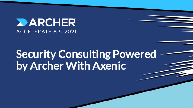 Security Consulting Powered by Archer