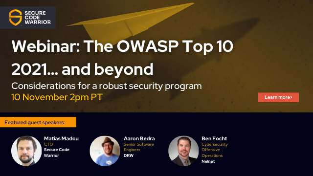 The OWASP Top 10…. and beyond