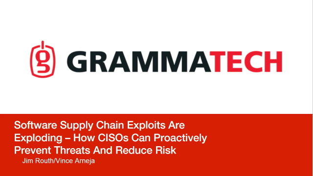Software supply chain exploits are exploding–How to proactively prevent threats