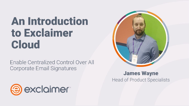 An Introduction to Exclaimer Cloud